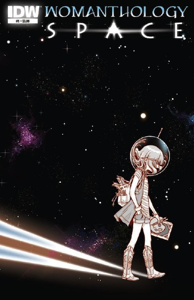Womanthology Space Cover