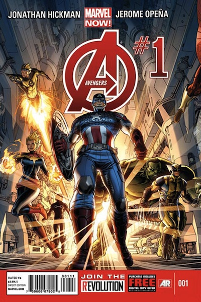 Avengers 1 Marvel NOW