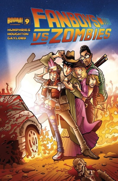 Fanboys vs Zombies 9