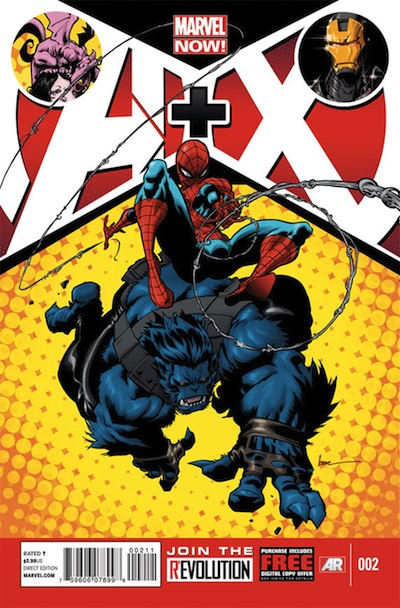 A X Marvel NOW