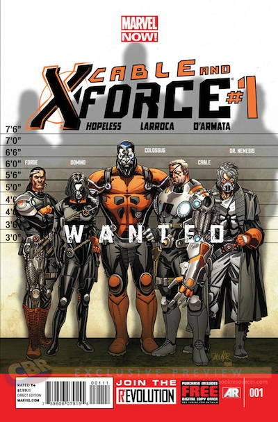 Cable and X-Force 1