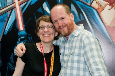 Jane and Joss SDCC 2012