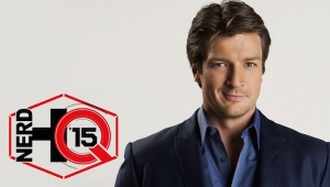 SDCC 2015: Nerd HQ - Nathan Fillion Panel Coverage ('Con Man,' 'Firefly,' 'Castle,' and a Good Amount of Vegemite)