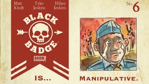 'Black Badge #6:' Advance Comic Book Review