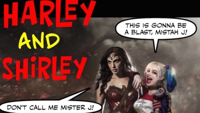 Wonder Woman Wednesday: Wonder Woman V Harley Quinn?