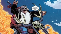 'Sleigher: The Heavy Metal Santa Claus' - Advance Comic Book Review