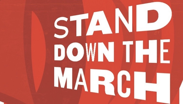 Fanbase Press Interviews Naomi Brodkin on 'Stand Down the March' (Hollywood Fringe 2018)