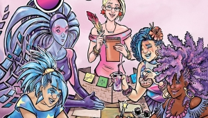 'Jem and the Holograms: Dimensions #1' - Advance Comic Book Review