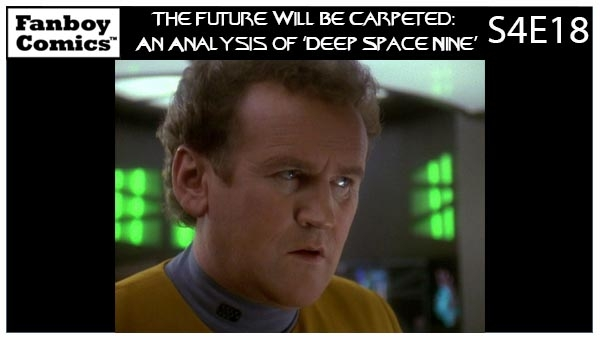 The Future Will Be Carpeted: An Analysis of 'Deep Space Nine (S4E18)'