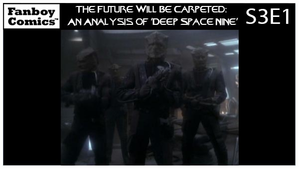 The Future Will Be Carpeted: An Analysis of 'Deep Space Nine (S3E1)'