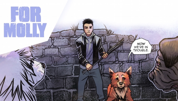 #CrowdfundingFridays: 'For Molly: Chapter 2 - A Modern Fantasy Comic'