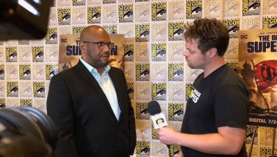 SDCC 2018: Fanbase Press Interviews Producer James Tucker on 'The Death of Superman'
