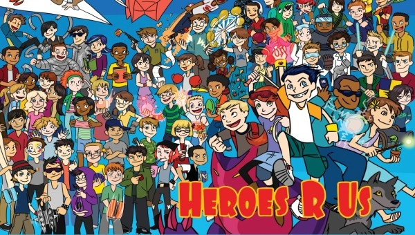 'Heroes 'R' Us #1-4:' Comic Book Review