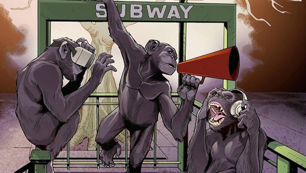 Fanbase Press Interviews James E. Roche on His New Comic Book Anthology, 'The 4th Monkey: An Anthology for Awareness'