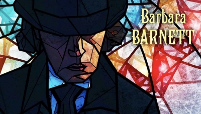 Fanbase Press Interviews Barbara Barnett on the New Novel, 'Alchemy of Glass'