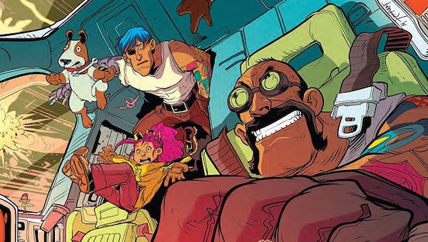 'Rocket Salvage #3:' Comic Book Review