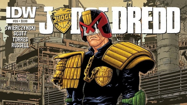 'Judge Dredd #26:' Comic Book Review