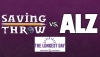 #GeeksCare: How You Can Help the Alzheimer's Association with 'Saving Throw' Tonight!