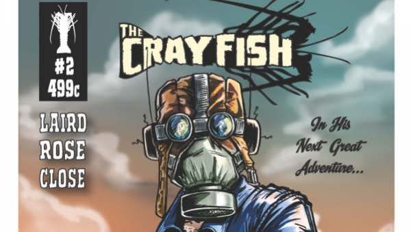 'The Crayfish #2:' Comic Book Review