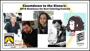 Countdown to the Eisners: 2018 Nominees for Best Coloring/Colorist
