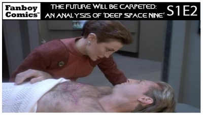 The Future Will Be Carpeted: An Analysis of 'Deep Space Nine (S1E2)'