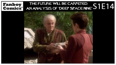 The Future Will Be Carpeted: An Analysis of 'Deep Space Nine (S1E14)'