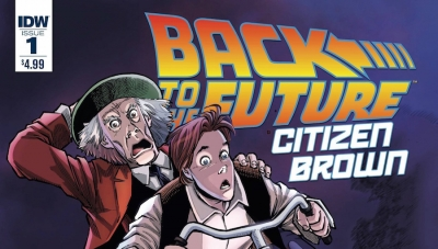'Back to the Future: Citizen Brown #1' - Advance Comic Book Review