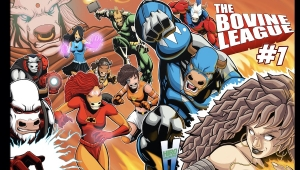 'The Bovine League #1:' Comic Book Review