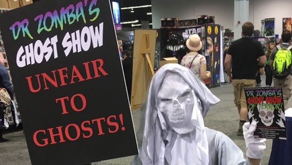 Fanbase Press Interviews David Blake Lucaraelli on 'Dr. Zomba's Ghost Show of Terror' (Hollywood Fringe 2018)