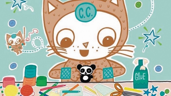 'The Amazing Crafty Cat:' Advance Graphic Novel Review