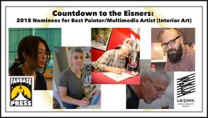 Countdown to the Eisners: 2018 Nominees for Best Painter/Multimedia Artist (Interior Art)