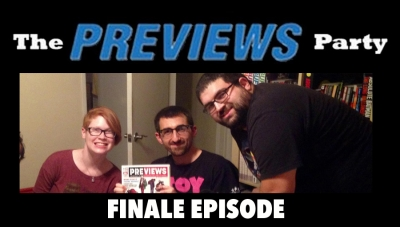 Ep. #048 The 'PREVIEWS' Party Podcast