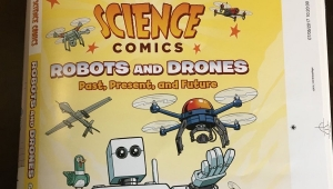 'Science Comics: Robots & Drones' – Comic Book Review