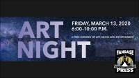 Join Fanbase Press and Talented Comic Book Creators for ArtNight Pasadena (March 13, 2020) -- UPDATE: EVENT POSTPONED