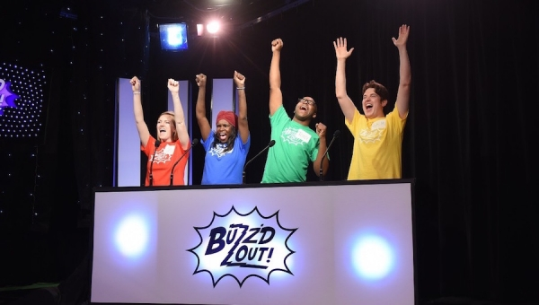 Fanbase Press Interviews Benjamin Benjamins and Roe Moore on 'Buzz'd Out Live!' (Hollywood Fringe 2018)