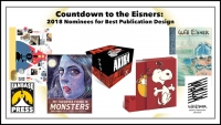 Countdown to the Eisners: 2018 Nominees for Best Publication Design