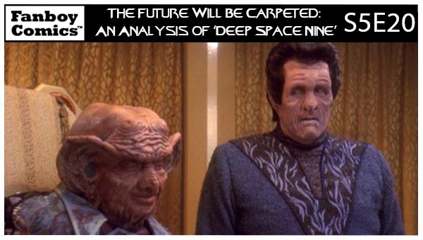 The Future Will Be Carpeted: An Analysis of 'Deep Space Nine (S5E20)'