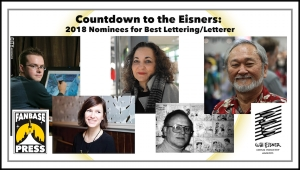 Countdown to the Eisners: 2018 Nominees for Best Lettering/Letterer