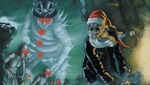 'Sleigher: The Heavy Metal Santa Claus #2' - Advance Comic Book Review