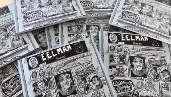 Fanbase Press Interviews Chris Spalton on the Comic Book Series, 'The Eelman Chronicles'