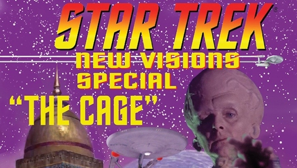 'Star Trek: New Visions Special - The Cage' - Advance Comic Book Review
