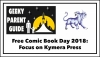 Geeky Parent Guide: Free Comic Book Day 2018 and Kymera Press