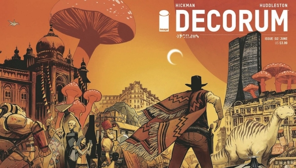 'Decorum #3:' Advance Comic Book Review