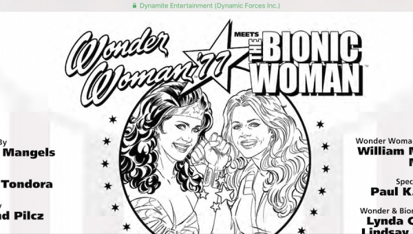 Wonder Woman Wednesday: 'Wonder Woman '77 Meets Bionic Woman #4' - Comic Book Review
