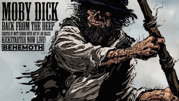 'Moby Dick: Back from the Deep #2:' Webcomic Review