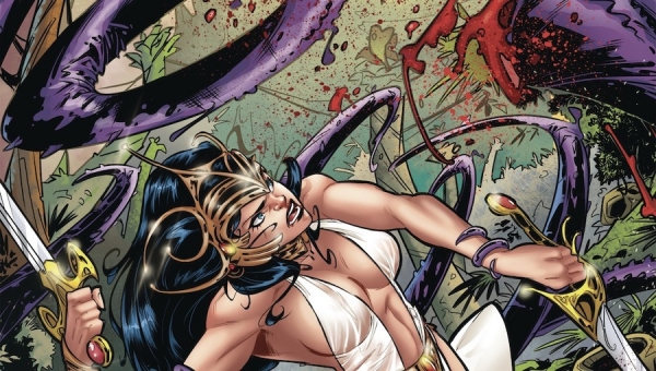 'Moon Maid: Catacombs of the Moon #2' - Comic Book Review