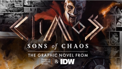 Fanbase Press Interviews Chris Jaymes on the Graphic Novel, 'Sons of Chaos'