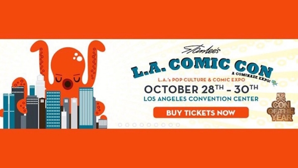 Join Fanbase Press & LA's Indie Creators for Stan Lee's Los Angeles Comic Con 2016 (Oct. 28-30)