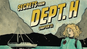 'Dept.H #21:' Advance Comic Book Review