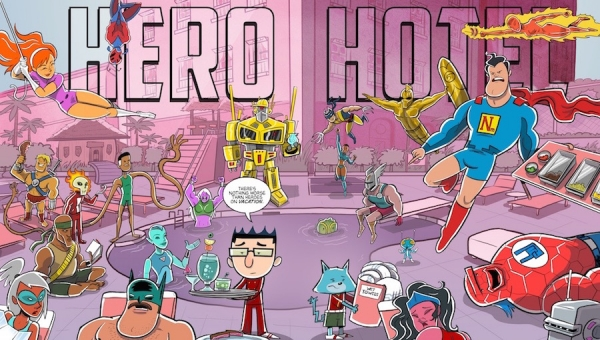 Join Fanbase Press for a 'Hero Hotel' Signing at the Pasadena Public Library (Dec. 3)